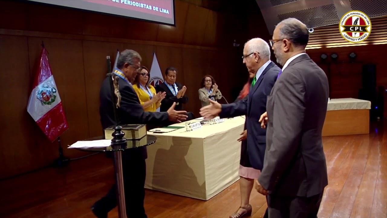 Hugo Coya - Presidente del Comité de Libertad de Expresión
